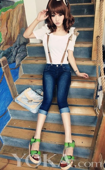 15款牛仔背带裤 今夏最热减龄妙搭单品-青岛新闻网