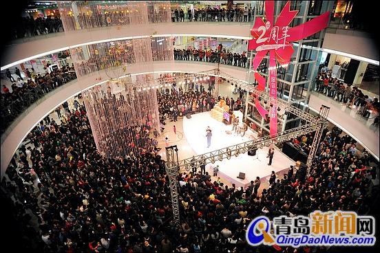 台东万达广场形成三城同耀青岛的商业新格局!
