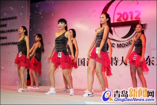 2013青岛东方丽人模特