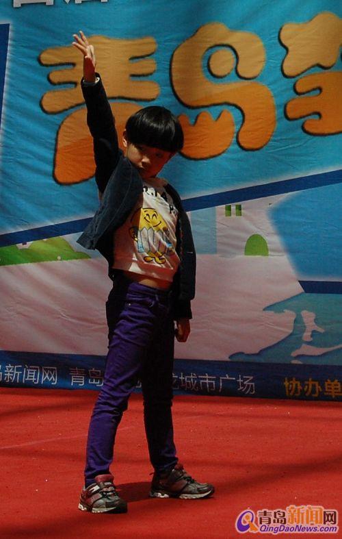 儿童模特走秀
