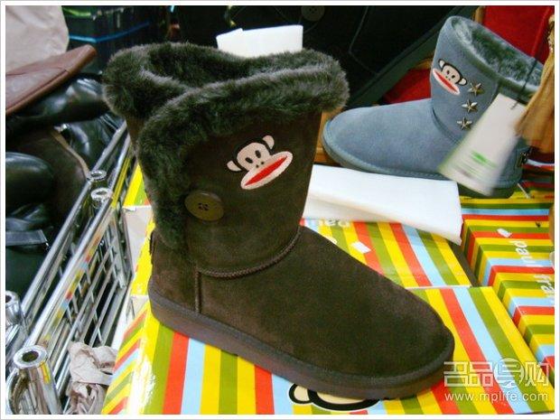 大嘴猴 鞋子/大嘴猴雪地靴