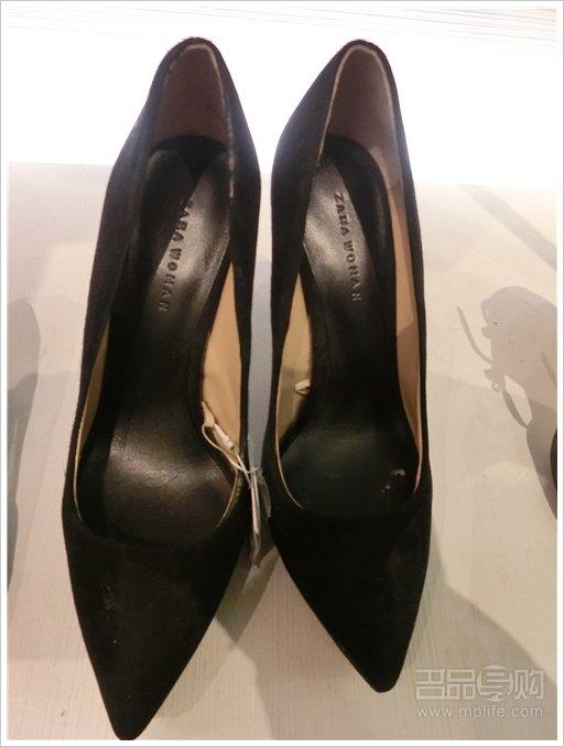 zara 高跟鞋