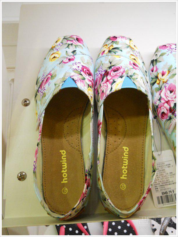 青岛/热风帆布鞋