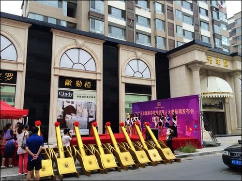 014元丰国际家居丽人大赛青岛火爆开幕