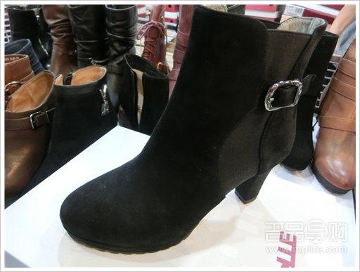 女鞋 百丽/百丽Belle女靴