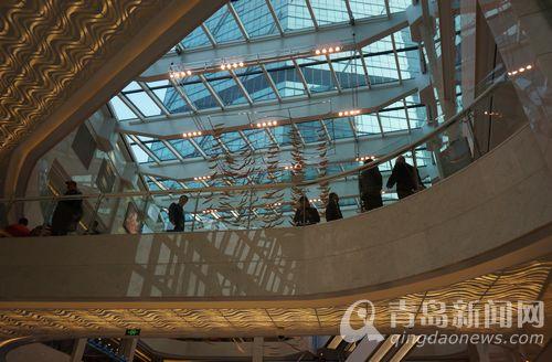 青岛香港中路再添高端购物中心