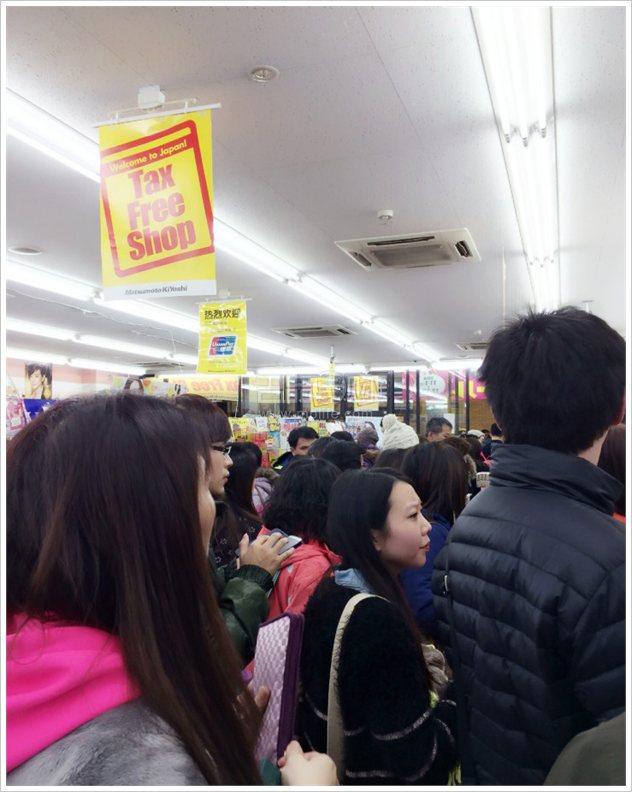 中国游客春节在日本花近60亿 盘点被国人抢购