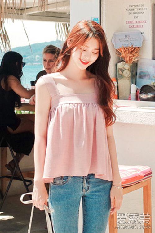 粉色衣服搭配 2016粉色流行