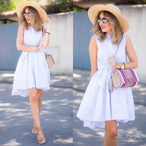青岛夏季连衣裙美上天 总有你心动的那条图片