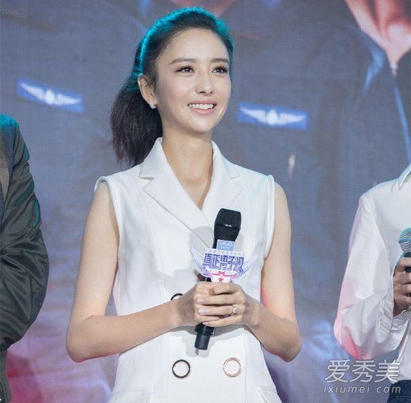 《真正男子汉2》女星卸妆前后对比照 杨幂还是很美 明星素颜照