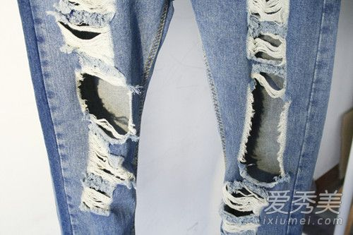 破洞牛仔裤怎样制作 破洞牛仔裤搭配